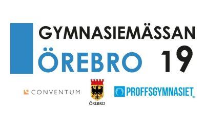 Gymnasiemässan Örebro 2019