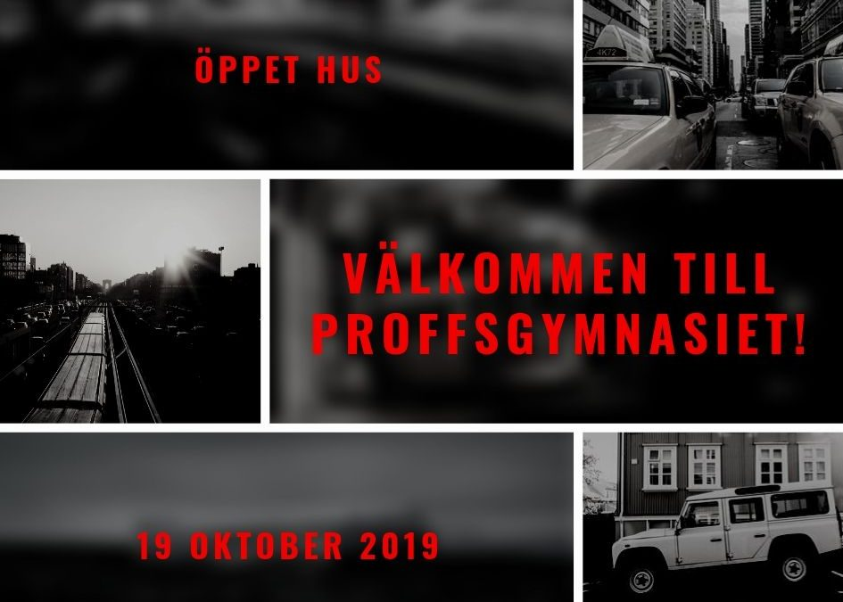 Öppet hus 19/10-2019