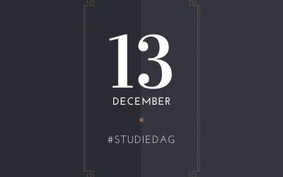 Studiedag 13/12-2019