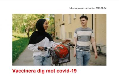 Informationsblad vaccination